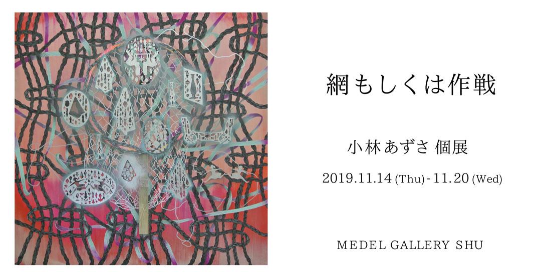 11/14 - 11/20 小林あずさ個展 綱あるいは作戦
